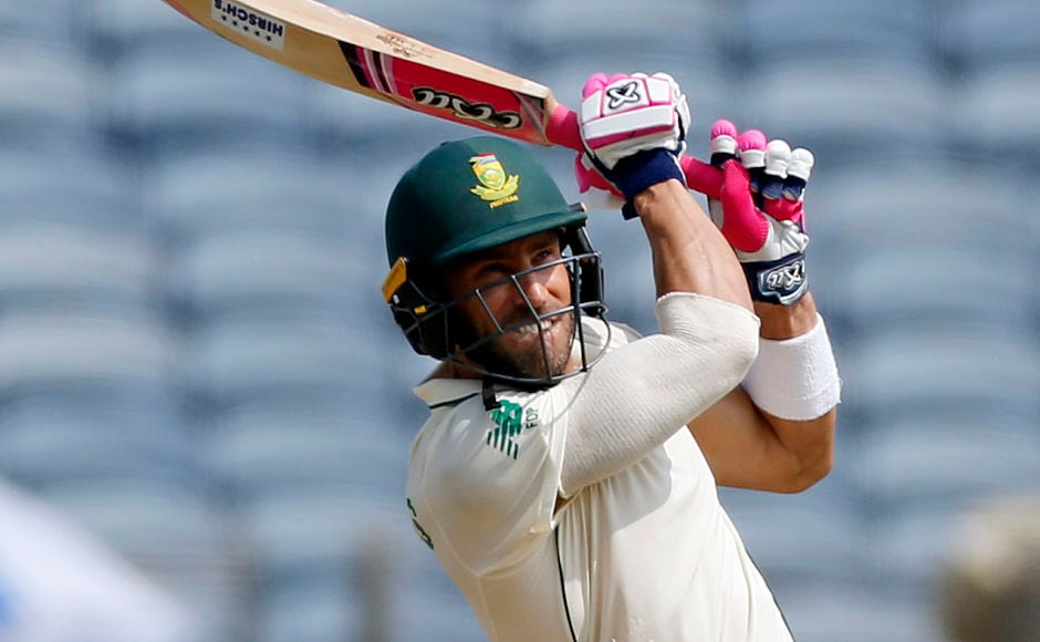 Proteas resumed the day at 36 for 3 but they were soon 53 for 5 before Faf du Plessis brought assurance in innings with the knock of 64 runs but the Indian bowlers kept the visitors on a tight leash with disciplined bowling. Faf scored 64 before departing home, leaving Proteas reeling at 128 for 6. AP