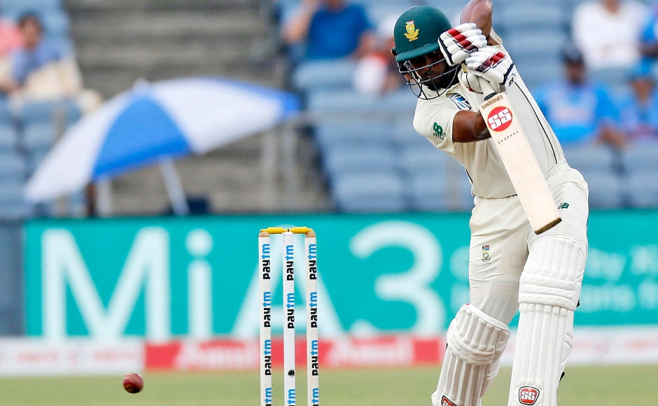 From 128 for 6, Proteas were soon 162 for 8 and it appeared as if the first innings will be finished rather quickly. However, Vernon Philander and Keshav Mahara displayed great resilience and put on 109-run stand for the ninth wicket to save some grace for the visitors on Day 3. AP