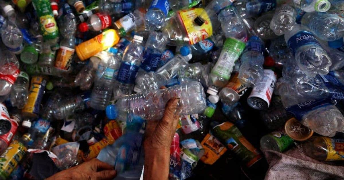 India generates 9.46 million tonnes of plastic waste annually.
