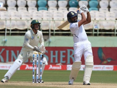 India vs South Africa: Rohit Sharma's maiden ton as opener powers hosts to 202/0 as rain forces early stumps on Day 1