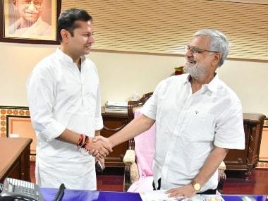 Rajasthan CM Ashok Gehlot's son Vaibhav files nomination for Rajasthan Cricket Association's president post