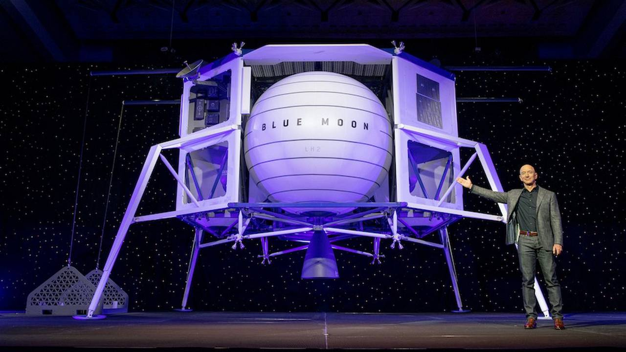 Blue Origin teams up with three aerospace giants to bid for NASA lunar lander contract- Technology News, Firstpost