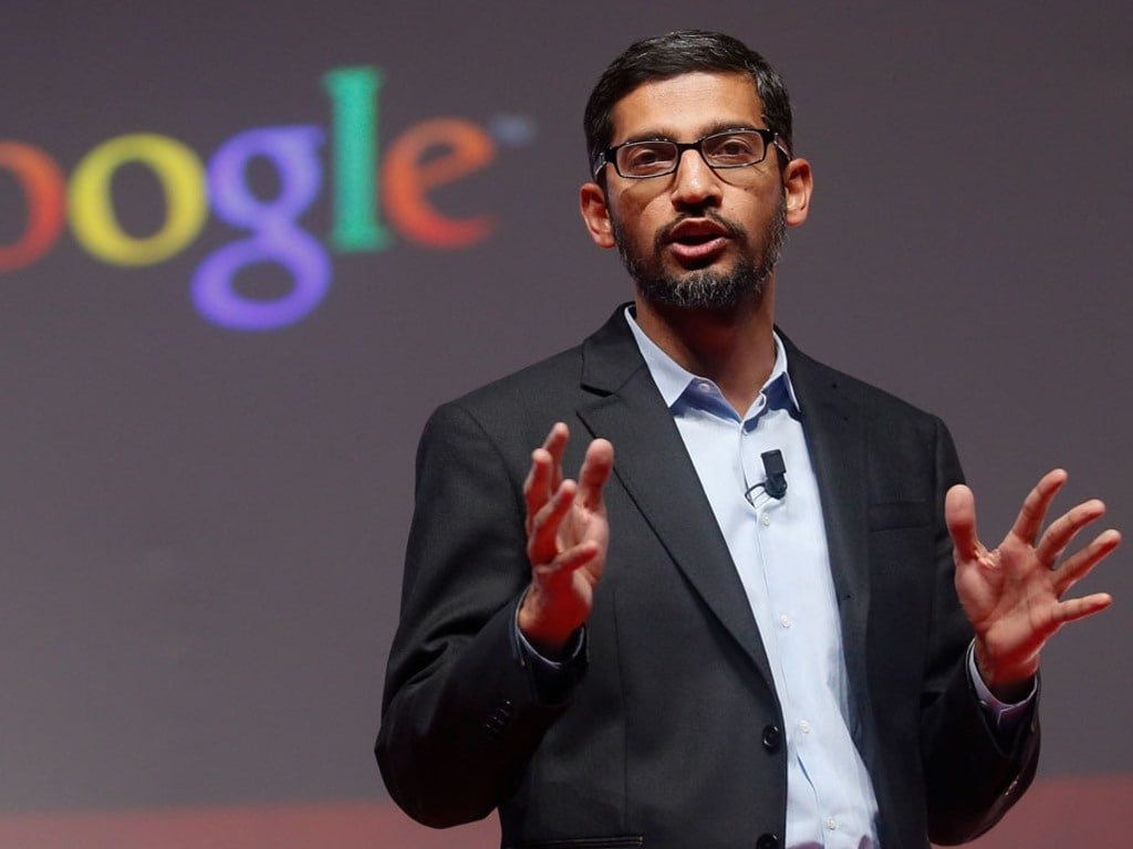 Google CEO Sundar Pichai will now head both Google and parent company Alphabet