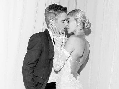 Justin Bieber, Hailey Baldwin share photos from second wedding ceremony in South Carolina