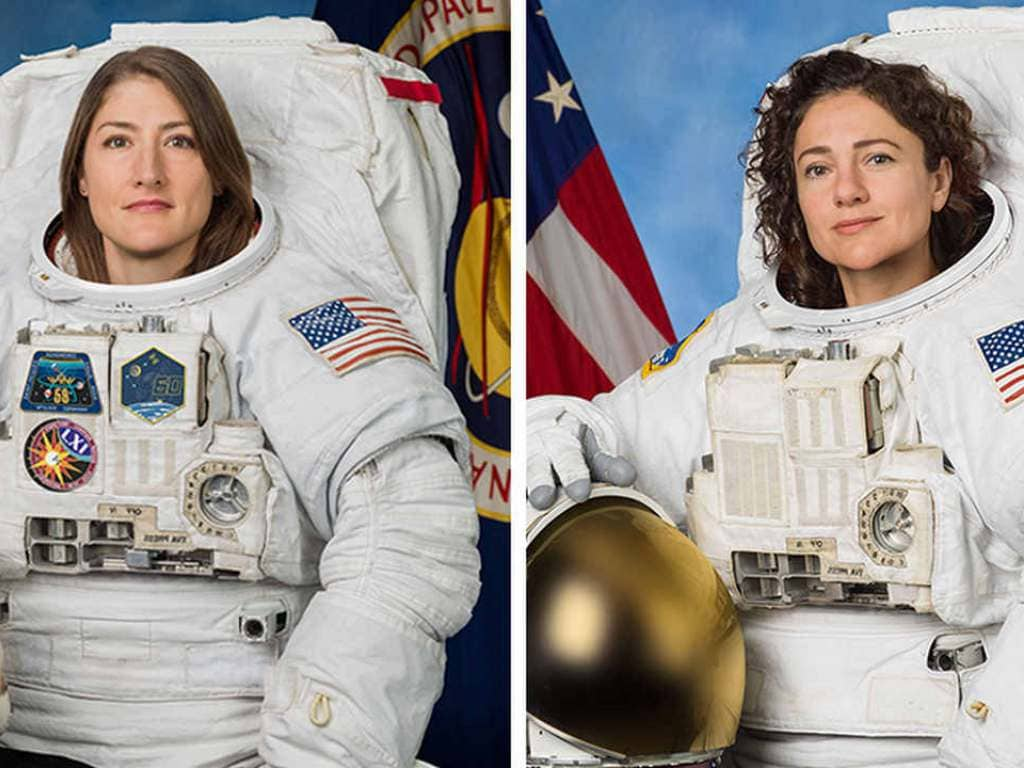 First all-woman spacewalk starting 5.20 pm today: What will Koch and Meir do on the historic mission?