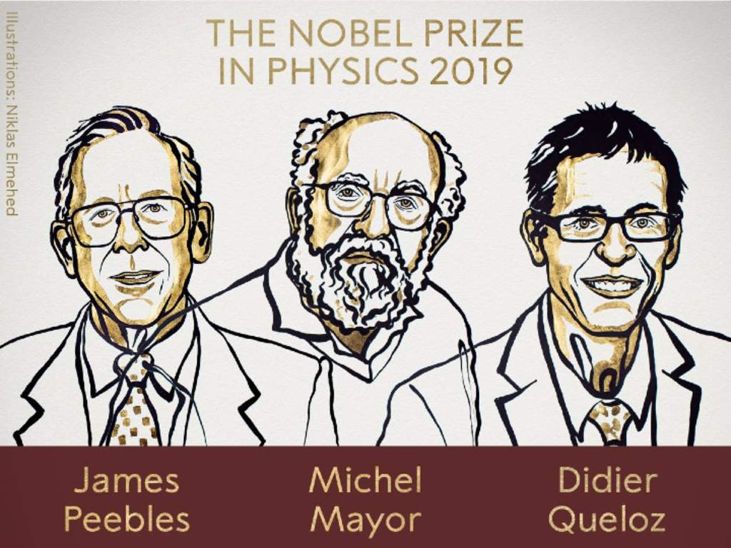 Nobel Physics Prize awarded to three scientists for work on the cosmos