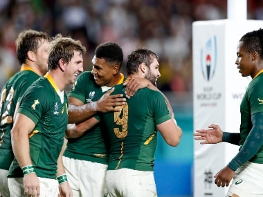 Rugby World Cup 2019: South Africa notch up dominating 66-7 win over Canada to close in on quarter-finals spot