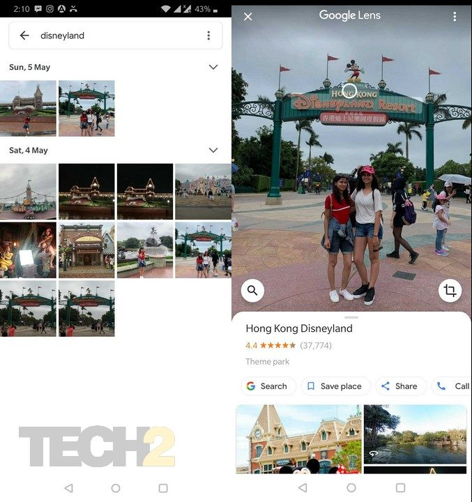 All the images with the particular text will pop up in front of you. Image: Tech2