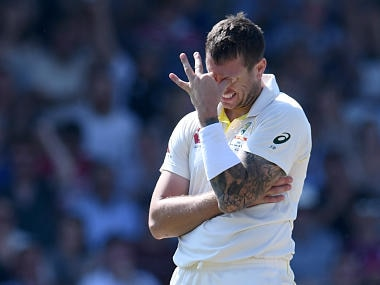 Australia vs Pakistan: James Pattinson suspended for first Test after 'abusing' incident in Sheffield Shield match