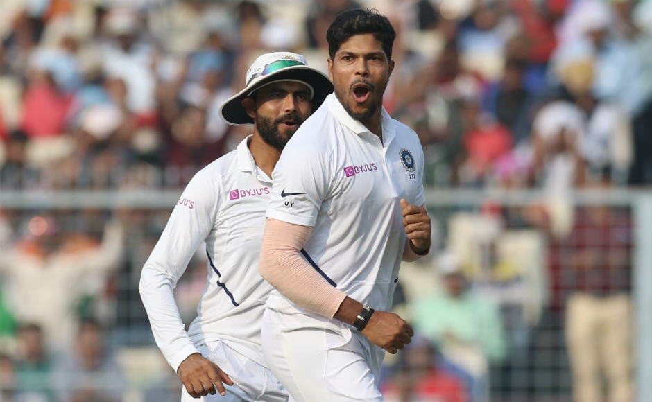 Ishant Sharma received valuable support at the other end from Umesh Yadav and Mohammed Shami, who picked up three and two wickets respectively. Sportzpics
