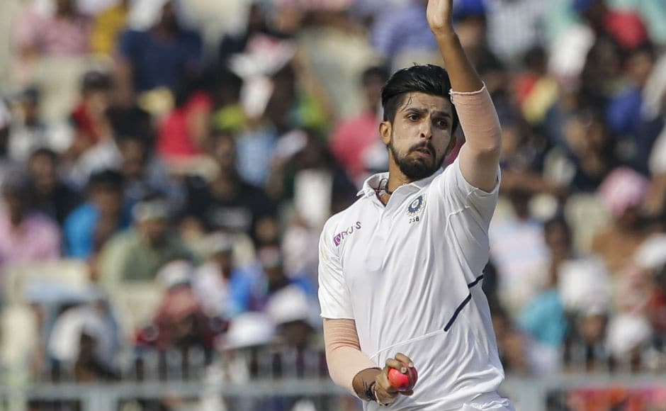 Ishant Sharma led the Indian pace battery, picking upfour wickets in the second innings and finishing with a total of nine wickets in the Test. He also bagged both Man of the Match and Man of the Series awards. AP