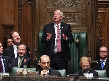 Lindsay Hoyle replaces John Bercow as Speaker of House, vows to restore British Parliament's battered reputation