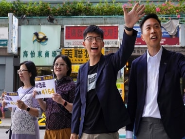 Hong Kong's pro-democracy parties sweep district council elections following 6 months of anti-government protests