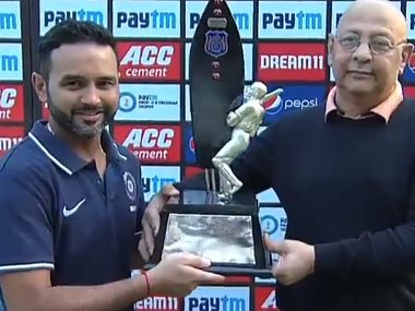 Deodhar Trophy 2019: Kedar Jadhav hits 86, Shahbaz Nadeem picks four-fer to help India B beat India C in final, lift trophy