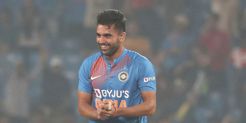 Deepak Chahar jumps 88 places in T20I rankings after Nagpur heroics; Rohit Sharma remains India's top ranked batsman- Firstcricket News, Firstpost