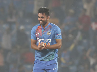 Deepak Chahar jumps 88 places in T20I rankings after Nagpur heroics; Rohit Sharma remains India's top ranked batsman
