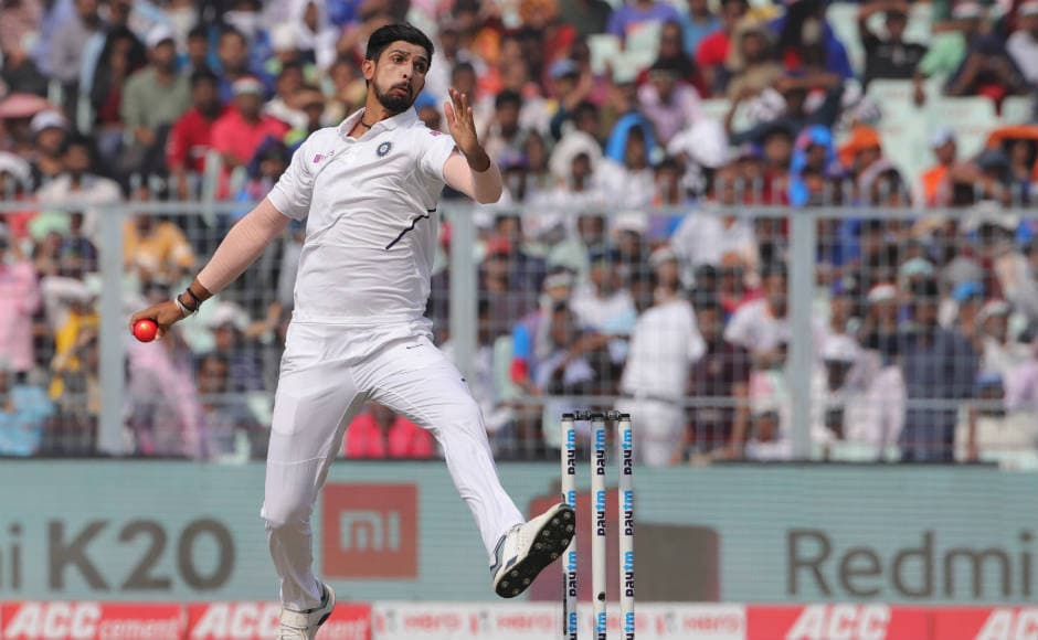 Speedster Ishant Sharma was the pick of the bowlers. He took his first five-wicket haul on Indian soil after 12 years, finishing with 5 for 22 in 12 overs. Sportzpics