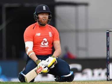 New Zealand vs England: Jonny Bairstow reprimanded by ICC for using audible obscenity after being dismissed in T20I