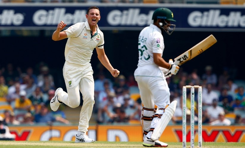 Pakistan have conceded a lead of over 150 runs in nine out of 13 consecutive losses in Australia. AP