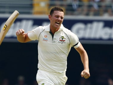 Australia vs Pakistan: Pacer Josh Hazlewood says Aussies 'didn't feel too much pressure' on Day 1 of opening Test