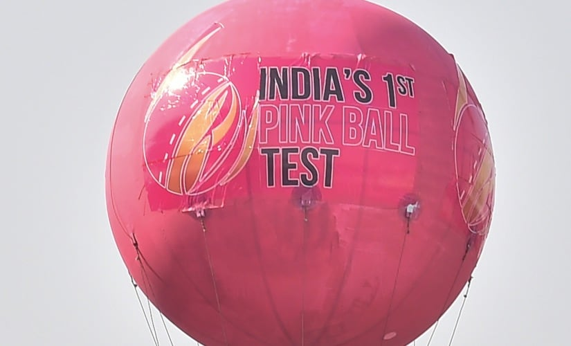 India vs Bangladesh, 2nd Test: From landmarks turning pink to giant blimp, Kolkata undergoes Pink Revolution for historic day-night Test