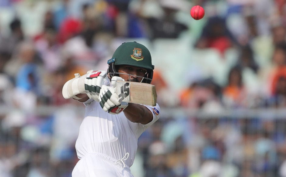 Opening batsmen Shadman Islam was the top-scorer for Bangladesh with his 29. The Indian seamers were lethal and restricted Bangladesh to a mere 106 in their first innings. Sportzpics