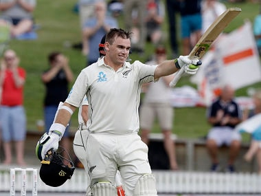 New Zealand vs England: Tom Latham's century puts visitors on back foot on rain-shortened opening day of second Test