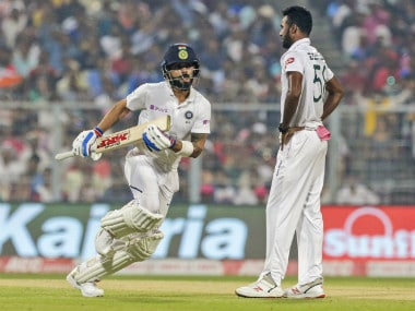 Virat Kohli becomes first Indian to score 5,000 Test runs as captain in pink-ball encounter against Bangladesh