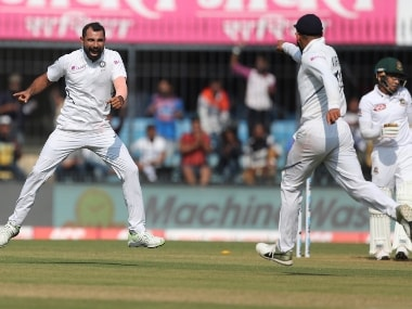 Mohammed Shami's three-wicket haul rattles Bangladesh before Mayank Agarwal, Cheteshwar Pujara take India to 86/1 at stumps on Day 1