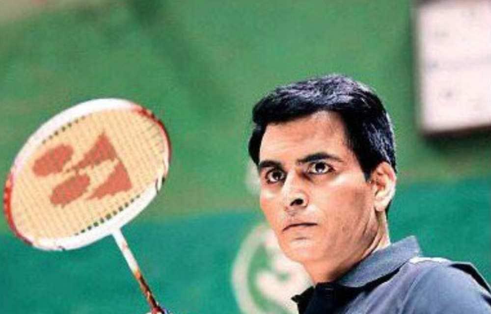 Saina Nehwal biopic: Manav Kaul shares his first look as the badminton player's coach - Firstpost