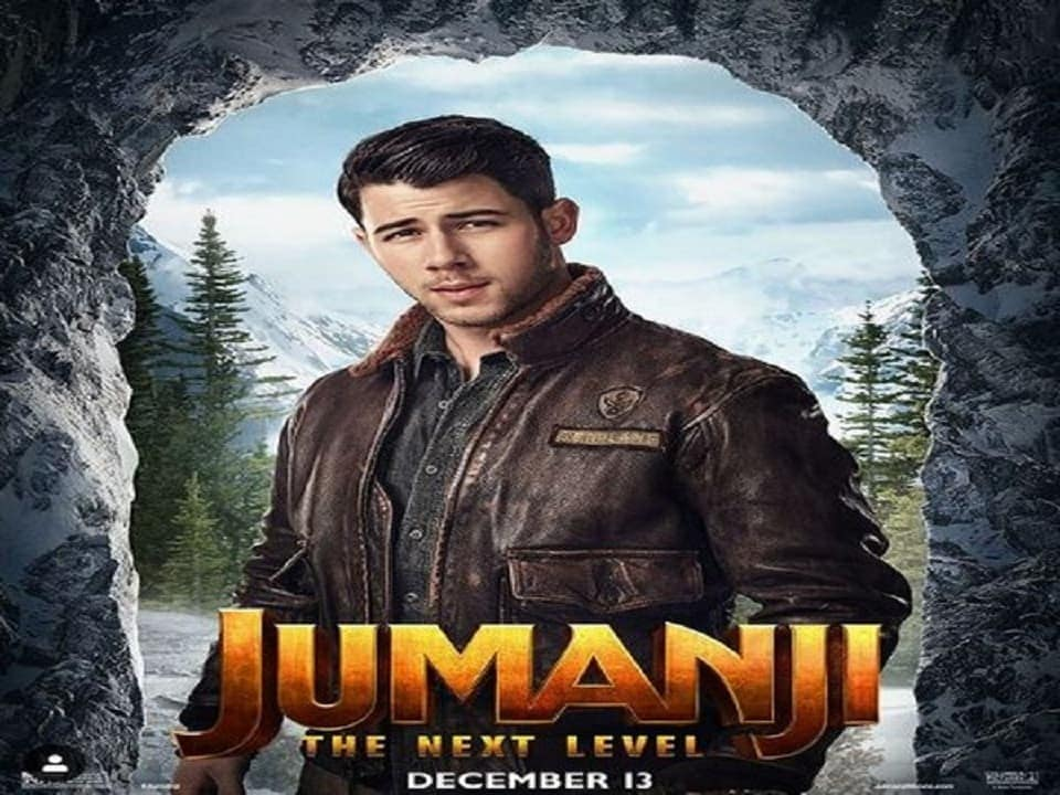 Jumanji: The Next Level — Nick Jonas is suave as Jefferson McDonough in character poster of upcoming adventure film- Entertainment News, Firstpost