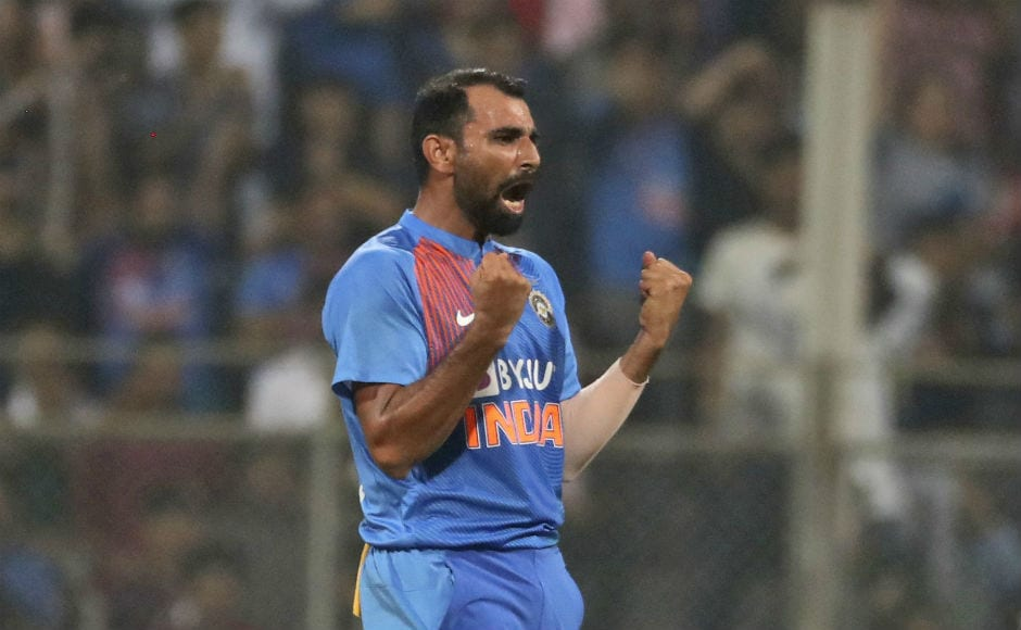 Mohammed Shami was the most impressive among pacers. He picked up three wickets at an impressive economy rate of 5.20. AP
