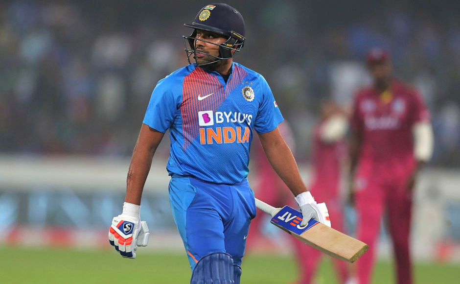 India did not have best of starts as they lost opening batsman and vice-captain Rohit Sharma cheaply for 8. AP