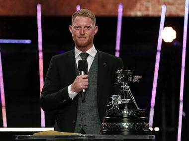 England all-rounder Ben Stokes caps sensational 2019 by winning BBCs Sports Personality of the Year award