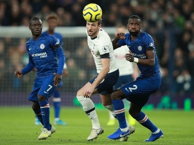 Premier League Chelsea Beat Tottenham As Racism Protocol Gets Implemented For 1st Time De Gea Howler Gifts Watford Win Sports News Firstpost