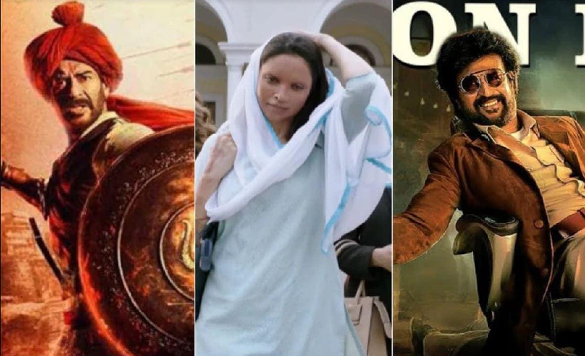 Deepika Padukone's Chhapaak to clash with Rajinikanth's Darbar, Ajay Devgn's Tanhaji: The Unsung Warrior on 10 January 2020- Entertainment News, Firstpost