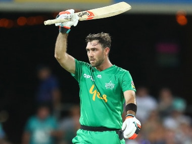 I've got no demons in my head, I've been able to sort of get everything off my chest, says Glenn Maxwell