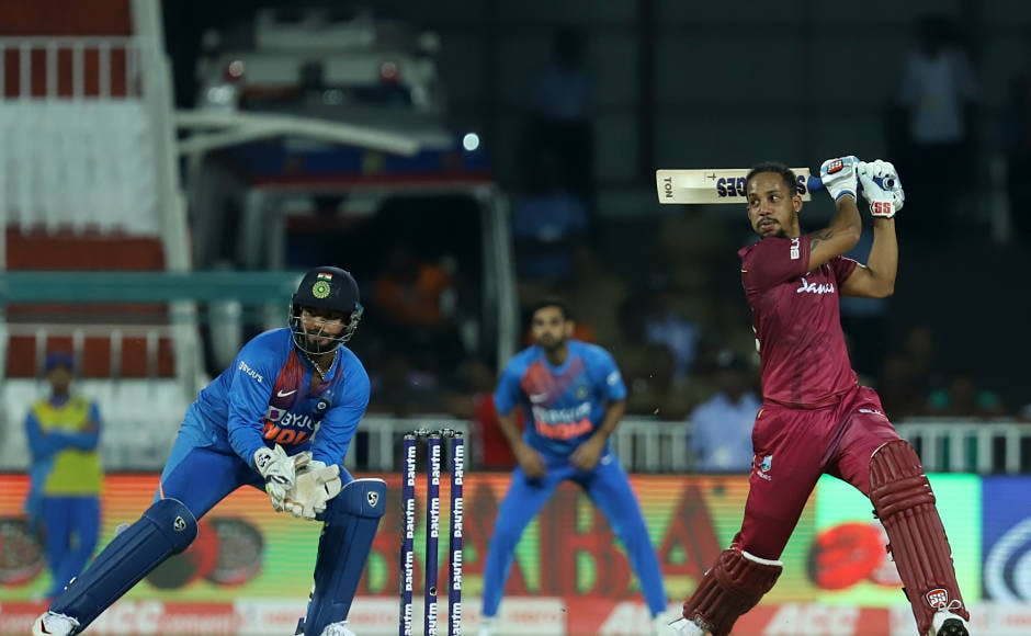 Lendl Simmions played a match-winning knock of 67 as the Windies clinched a comfortable series-levelling victory. Sportzpics