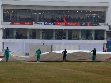 Pakistan vs Sri Lanka: Bad weather curtails visitors' chances of posting big total in first innings