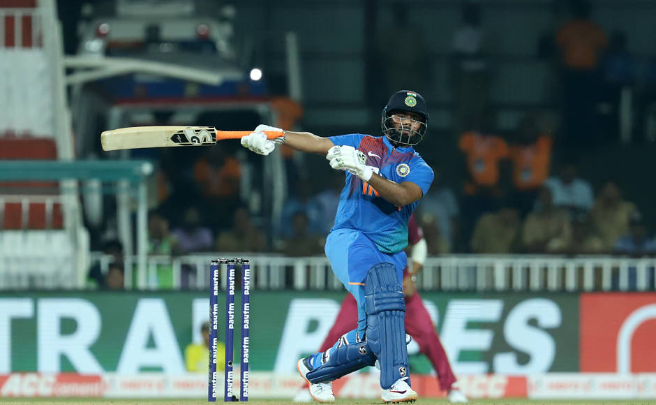 Under-fire Rishabh Pant remained unbeaten on 33 with Deepak Chahar at the other end as India posted a total of 170-7. Sportzpics