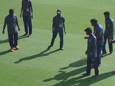 Watch: Snake delays start of Andhra's Ranji Trophy opener against defending champions Vidarbha