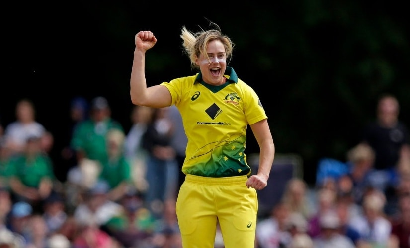 File photo Ellyse Perry. Image credits Twitter @FoxSports