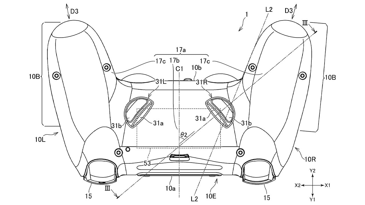 Sony patent for PS controller. Image: WIPO