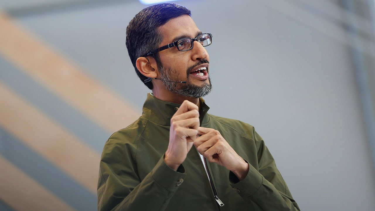 Alphabet grants Sundar Pichai 0 million stock awards over the next three years