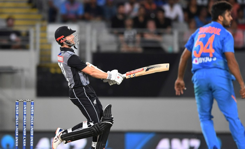 New Zealand captain Kane Williamson scored a breezy 51 off just 26 balls to anchor his side's batting effort during the first T20I against India. AP