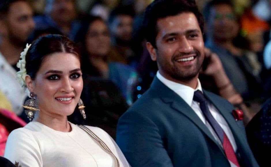 Actors Kriti Sanon and Vicky Kaushal were also among the attendees at the 2020 edition of the Umang festival. Photo: Sachin Gokhale/ Firstpost