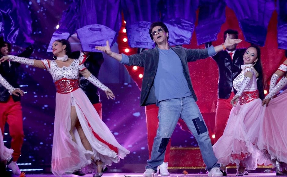 A performance by actor Shah Rukh Khan also added to the glamour of the event. Photo: Sachin Gokhale/ Firstpost