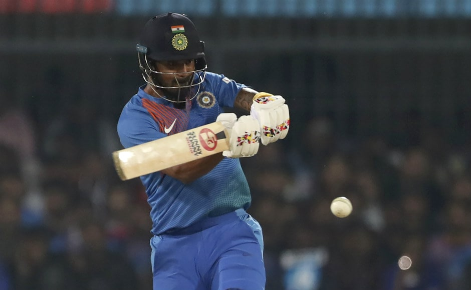 Put into bat, KL Rahul continued his good form, smashing 54 off 36 balls. The opener yet again made a strong case for becoming the first choice to partner Rohit Sharma going into the T20 World Cup in Australia. AP