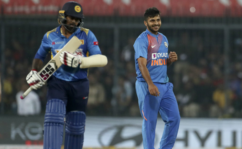After a solid start, it was Shardul Thakur who provided the Men in Blue the finish they needed, striking 22 off 8 deliveries as the hosts posted 201/6 on the board. Thakur was equally impressive with his bowling and finished with figures of 2/19 from his 3 overs. AP