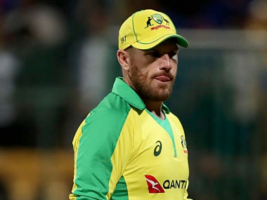 India vs Australia: Skipper Aaron Finch blames loss of momentum in Bengaluru for visitors' series defeat